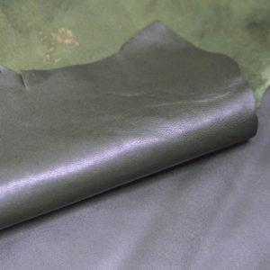 Кожа одёжная МРС, хаки-705
