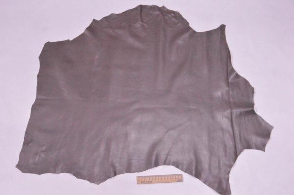 Кожа одёжная МРС, серо-коричневая, 6 фут. (56 дм2.)-301016