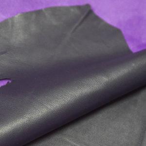 Кожа одёжная МРС, фиолетовая, 5 фут. (46 дм2.)-301024