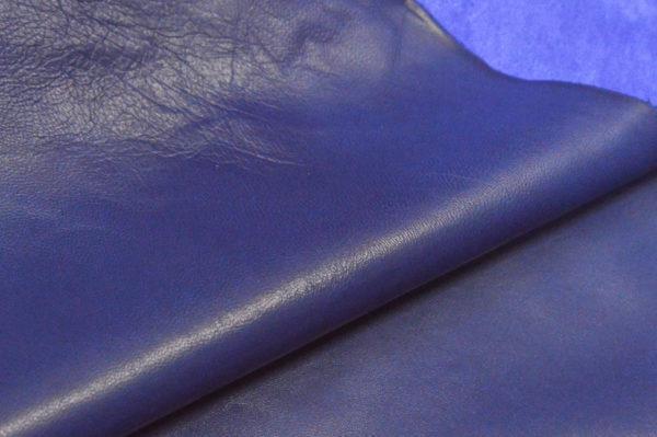 Кожа одёжная МРС, ультрамарин-681
