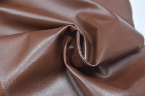 Кожа одёжная МРС, коричневая (фундук)-737