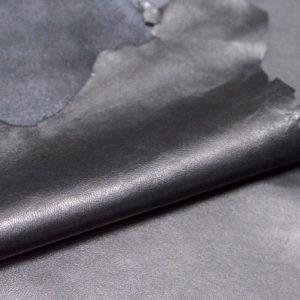 Кожа одёжная МРС, чёрная-111