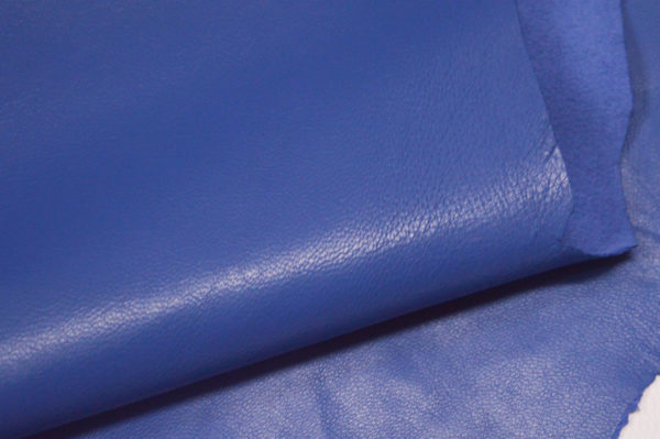 Кожа одёжная МРС, голубая, 6,25 фут. (58 дм2.)-301055