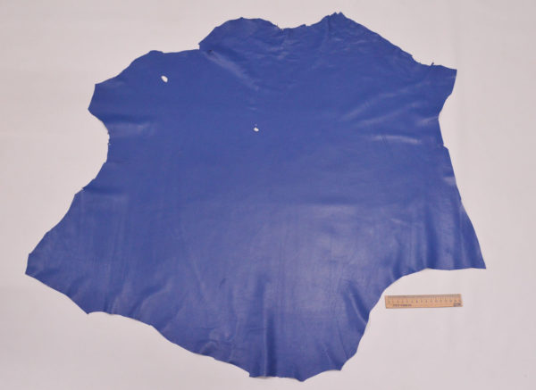 Кожа одёжная МРС, голубая, 7 фут. (65 дм2.)-301056