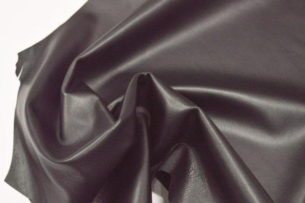 Кожа одёжная МРС, чёрная, 5,5 фут. (51 дм2.)-301059
