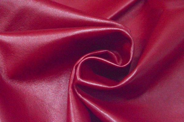 Кожа одёжная МРС, тёмно-красная-Pb-092