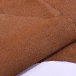Кожподклад свиной (спилок), светло-коричневый (нугат)-Pb-037