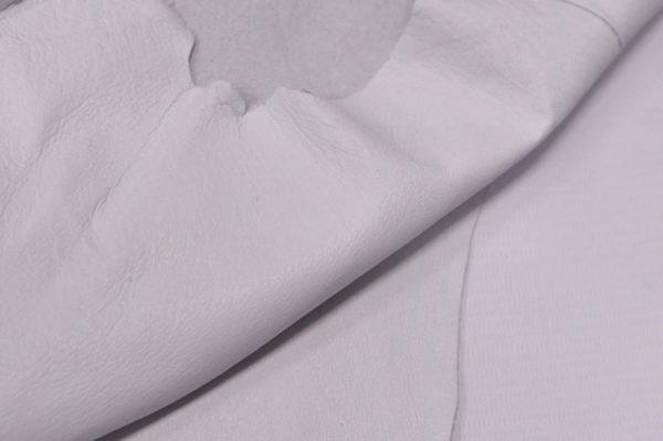 Кожподклад свиной, белый (айвори)-Pb-011