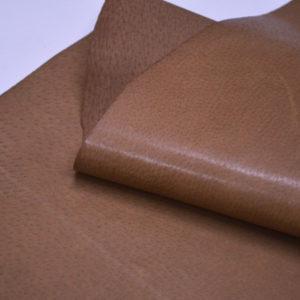 Кожподклад свиной (спилок) вощёный, светло-коричневый (нугат)-Pb-044