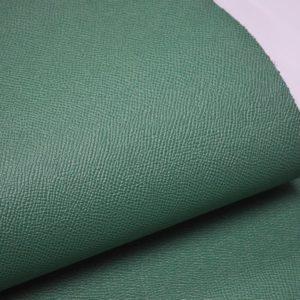 Кожа КРС, сафьяно (Saffiano), светло-зелёная, 210 дм2.-901008