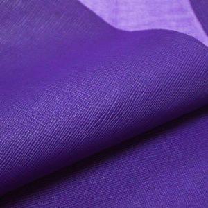 Кожа КРС, сафьяно (Saffiano), фиолетовая, 175 дм2.-901036