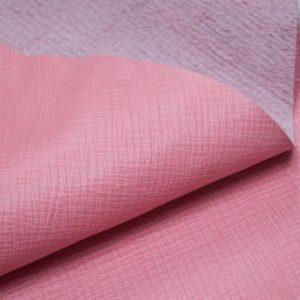 Кожа КРС, сафьяно (Saffiano), розовая, 98 дм2, Masoni Industria Conciaria S.p.А.-901037