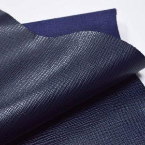 Кожа КРС, сафьяно (Saffiano), тёмно-синяя, 109 дм2, Masoni Industria Conciaria S.p.А.-901040