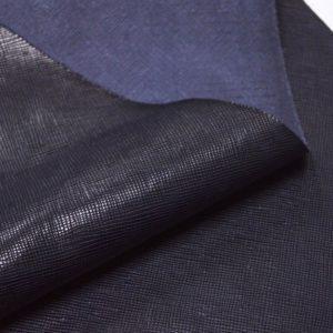 Кожа КРС, сафьяно (Saffiano), чёрная, 99 дм2.-901057