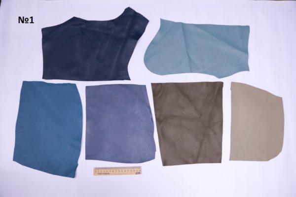 Набор мягкого лоскута кожи МРС, 40 дм.-Набор 01