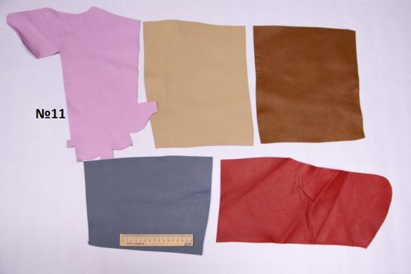 Набор мягкого лоскута кожи МРС, 33 дм.-Набор 011