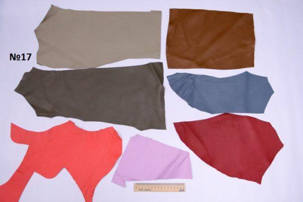 Набор мягкого лоскута кожи МРС, 37 дм.-Набор 017