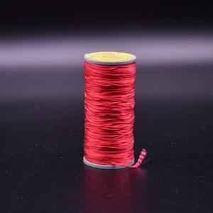 Нить капроновая крученая, ярко-красная (текс 375)