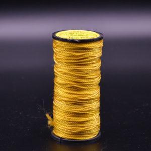 Нить капроновая крученая, жёлтая (текс 375)