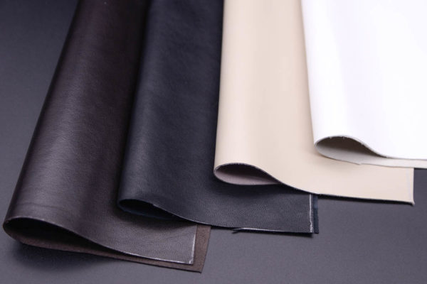 Набор из 4 кусочков чёрной, белой, бежевой, тёмно-коричневой, А4-Набор 2-1