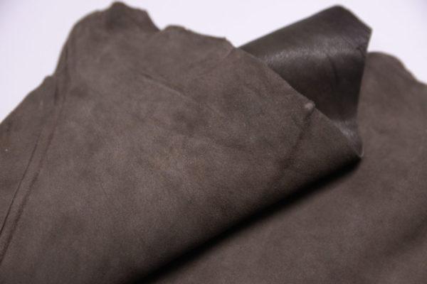 Велюр МРС (коза), какао, 31 дм2.-107355