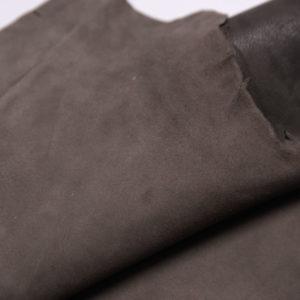 Велюр МРС (коза), какао, 29 дм2.-107356