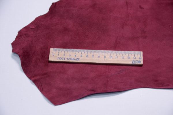 Велюр МРС, бордовый, 34 дм2.-107379