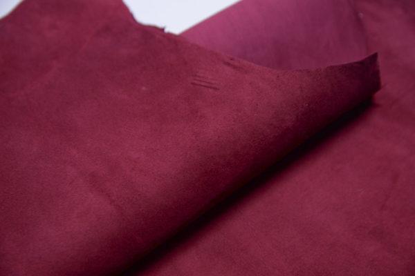Велюр МРС, бордовый, 39 дм2.-107380