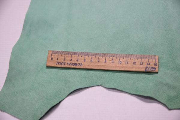 Велюр МРС, нежная мята, 37 дм2.-107389
