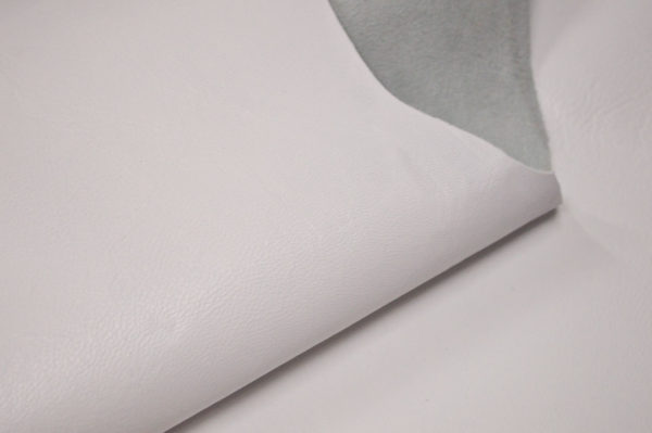 Кожа одёжная МРС, белая-Pb-098