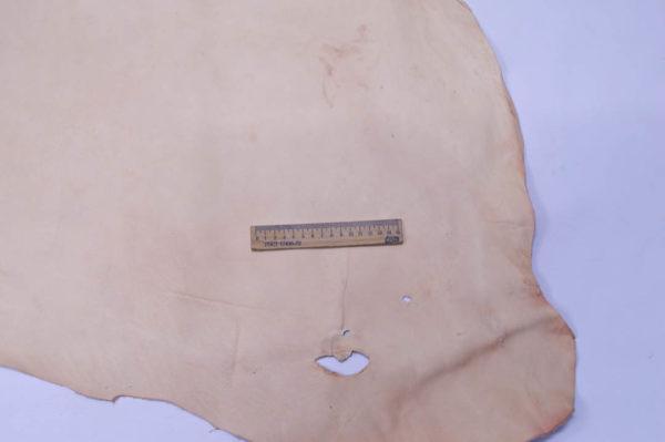 Кожа КРС растительного дубления, телесная, 143 дм2.-501141