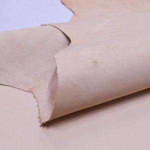 Кожа КРС растительного дубления, телесная, 154 дм2.-501146