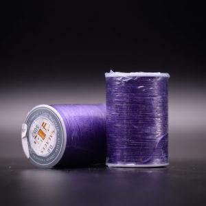 Нить вощеная плоская. Фиолетовая-s052