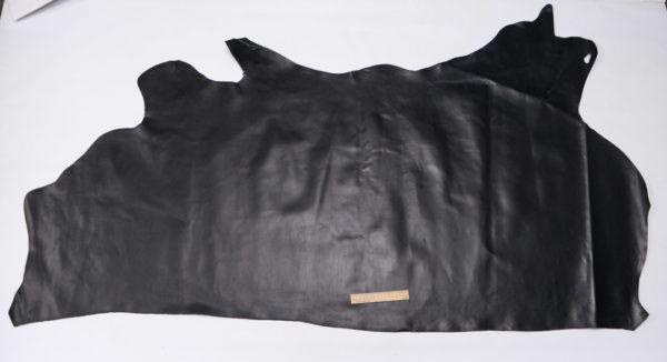 Кожа КРС, чёрная, 137 дм2.-501166