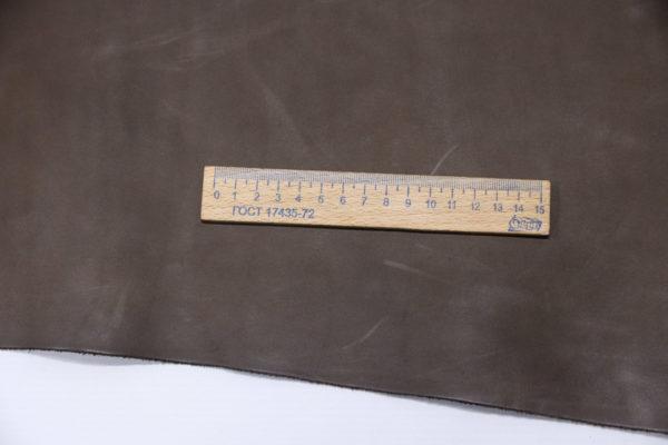 Кожа КРС, какао, 228 дм2.-501178