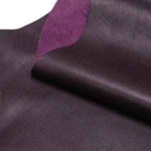 Кожа КРС, тёмно-бордовая, 65 дм2.-501201