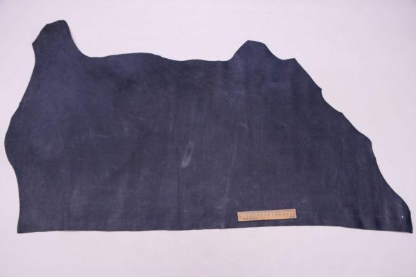 Кожа КРС, синяя, 58 дм2.-501202