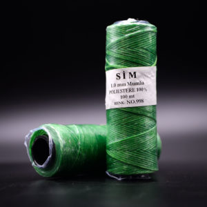 Нить вощенная. Светло-зеленая (SIM 998)