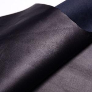 Кожа МРС, чернильная (тёмно-синяя), 50 дм2, Russo di Casandrino S.p.A.-108059