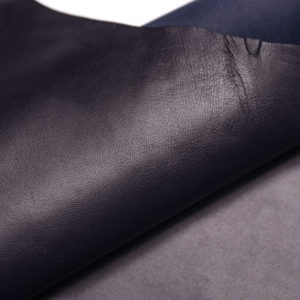 Кожа МРС, чернильная (тёмно-синяя), 54 дм2, Russo di Casandrino S.p.A.-108061