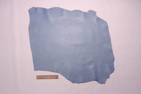 Кожа МРС, голубая, 37 дм2.-108067