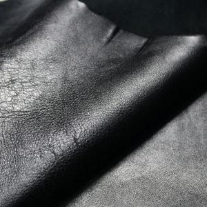 Кожа МРС, чёрная, 70 дм2, Russo di Casandrino S.p.A.-108079