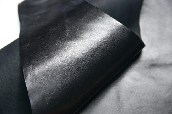 Кожа МРС, чёрная, 38 дм2, Russo di Casandrino S.p.A.-108080