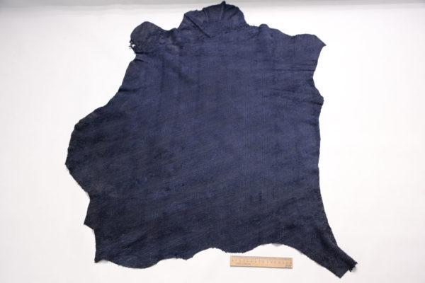 Нубук МРС с насечками, синий, 49 дм2.-108108