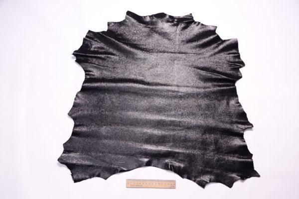 Велюр МРС с напылением, чёрный, 35 дм2.-108109