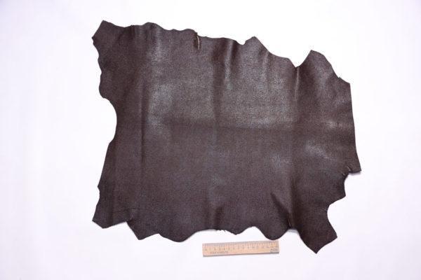 Велюр МРС с тиснением, коричневый, 25 дм2.-108110