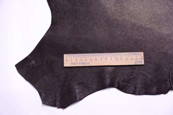 Велюр МРС с тиснением, тёмно-коричневый, 50 дм2.-108111