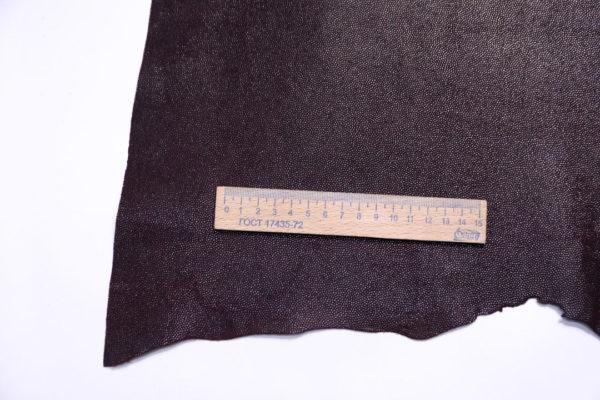 Велюр МРС с тиснением, тёмно-бордовый, 30 дм2.-108113