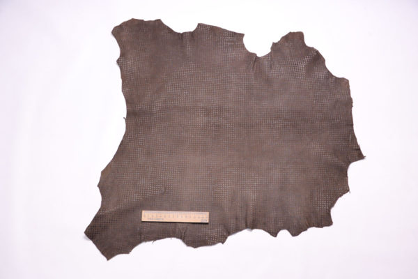 Велюр МРС с принтом, какао, 33 дм2.-108116