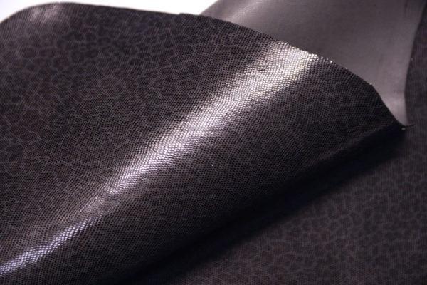 Велюр МРС с напылением, тёмно-серый леопард, 33 дм2.-108118